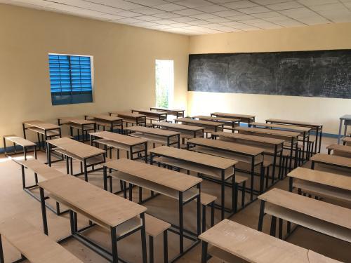Danja school interior